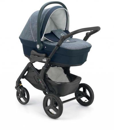 Коляска 2-в-1 Cam Dinamico Up Easy (625/синий с серым) детская коляска cam dinamico elite 3 в 1