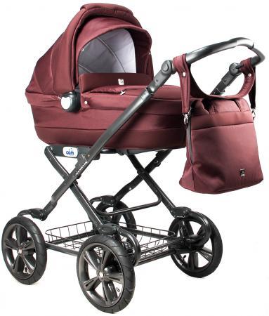 Коляска для новорожденного Cam Linea Sport (цвет 638/бордо) cam коляска люлька linea elegan cam бордовый