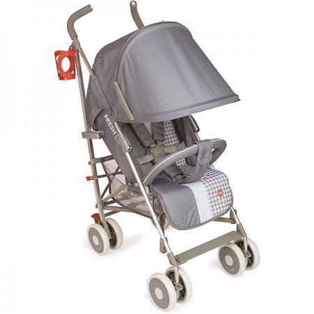 Коляска-трость Happy Baby Cindy (light grey) прогулочная коляска happy baby cindy grey