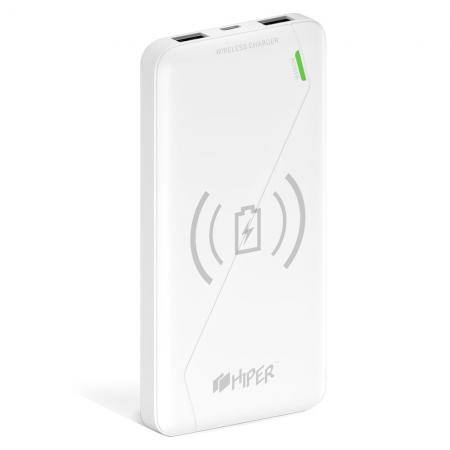 Фото - Внешний аккумулятор Power Bank 8000 мАч HIPER SX8000 белый внешний аккумулятор power bank 10000 мач cyberpower cp10000peg белый