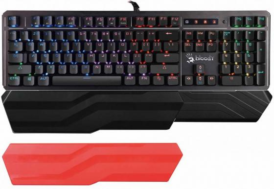 Клавиатура проводная A4TECH B975 USB черный