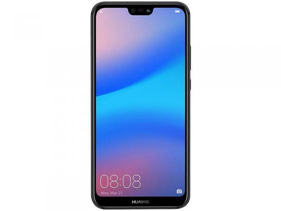 Смартфон Huawei P20 Lite черный 5.84 64 Гб NFC LTE Wi-Fi GPS 3G 51092GYS смартфон