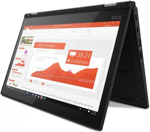 Ноутбук Lenovo ThinkPad L380 13.3 1920x1080 Intel Core i5-8250U 256 Gb 8Gb Intel UHD Graphics 620 черный Windows 10 Professional (20M50013RT) ноутбук lenovo thinkpad 13 13 3 1920x1080 intel core i5 7200u 20j1003trt