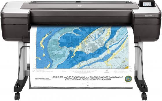 Купить Принтер HP DesignJet T1700dr 1VD88A цветной A0 2400x1200dpi Ethernet