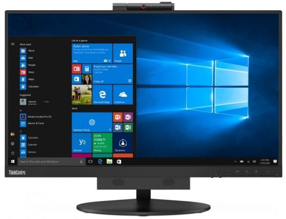 """Монитор 24"""" Lenovo TIO 24 черный IPS 1920x1080 250 cd/m^2 6 ms DisplayPort Аудио LAN USB 10QXPAT1EU цены онлайн"""
