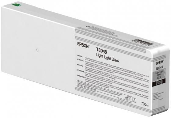 Картридж Epson C13T804900 для Epson SC-P6000/SC-P7000/SC-P8000/SC-P9000 серый ароматизатор для авто hexin 100 sc xs12