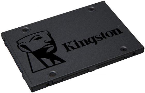 Твердотельный накопитель SSD 2.5 960Gb Kingston SSDNow A400 Read 500Mb/s Write 450Mb/s SATAIII SA400S37/960G твердотельный накопитель ssd 2 5 960gb kingston hyperx savage read 520mb s write 490mb s sataiii shss37a 960g