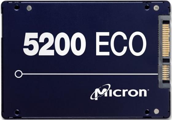 Твердотельный накопитель SSD 2.5 480Gb Crucial Micron 5200ECO Read 540Mb/s Write 385Mb/s SATA MTFDDAK480TDC-1AT1ZABYY
