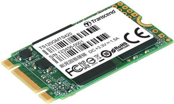 Твердотельный накопитель SSD M.2 120Gb Transcend MTS420 Read 560Mb/s Write 500mb/s SATAIII TS120GMTS420S стоимость
