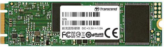Твердотельный накопитель SSD M.2 120Gb Transcend MTS820 Read 560Mb/s Write 480mb/s SATAIII TS120GMTS820S ssd накопитель transcend ts120gmts820s 120гб m 2 2280 sata iii
