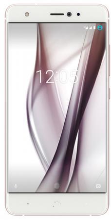Смартфон BQ Aquaris X (32+3GB) белый/розовый перламутр, 5.2'' 1920x1080, 2.2GHz, 8 Core, 3GB RAM, 32GB, up to 256GB flash, 16Mpix/8Mpix, 2 Sim, 2G, 3G, LTE, BT, Wi-Fi, NFC, GPS, Glonass, 3000mAh, Android 7.1.1, 153g, 146.5x72.7x7.9 смартфон htc u11 eea amazing silver 6 2880x1440 2 45ghz 8 core 6gb ram 128gb up to 2tb flash 12mpix 8mpix 2 sim 2g 3g lte bt