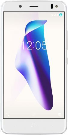 Смартфон BQ Aquaris V белый золотистый 5.2 16 Гб LTE Wi-Fi GPS 3G C000288 смартфон archos sense 50 dc золотистый 5 16 гб lte wi fi gps 3g 503525