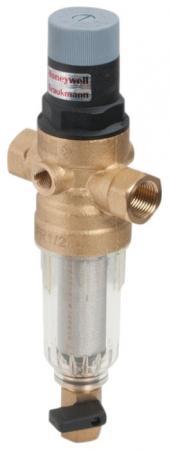 Сетчатый комбинированный фильтр atoll AFRF-1/2C прозр. пластик, хол. вода (аналог FK06-1/2AA) фильтр honeywell fk06 1 2aa 1076h