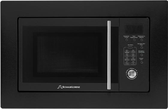 Встраиваемая микроволновая печь Schaub Lorenz SLM ES21D 800 Вт чёрный микроволновая печь bbk 23mws 927m w 900 вт белый