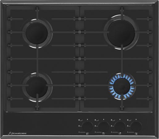 Варочная панель газовая Schaub Lorenz SLK GS6220 черный