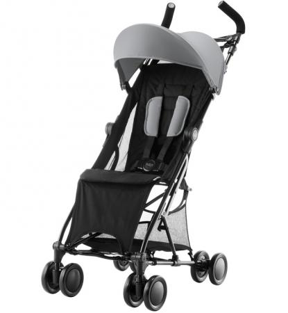 Коляска прогулочная Britax Holiday (steel grey) прогулочная коляска britax b lite steel grey