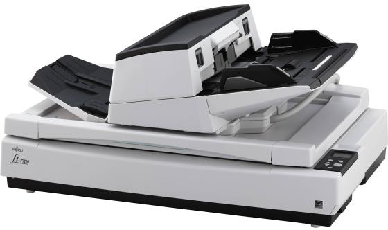 Сканер Fujitsu fi-7700S протяжный A3 600x600 dpi CCD 58ppm PA03740-B301 fujitsu fi 6110