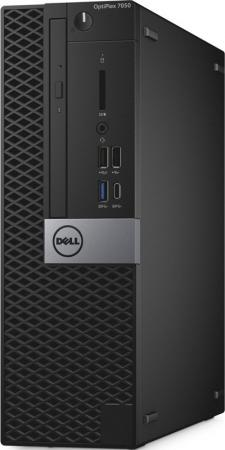 Системный блок DELL Optiplex 7050 SFF Intel Core i7 6700 8 Гб 1Tb + 256 SSD Radeon R5 430 2048 Мб Windows Professional 7 7050-4877 аксессуар ремешок activ sport band для apple watch 42mm dark blue 79541