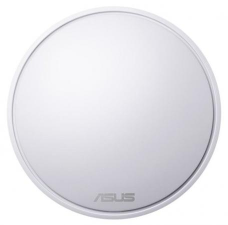 Точка доступа ASUS Lyra mini x1 MAP-AC1300 802.11abgnac 1267Mbps 2.4 ГГц 5 ГГц 1xLAN белый беспроводная точка доступа mikrotik rbmapl 2nd map lite with 650mhz cpu 64mb ram 1xlan built in dual chain 2 4ghz 802 11bgn dual chain wireless with integrated