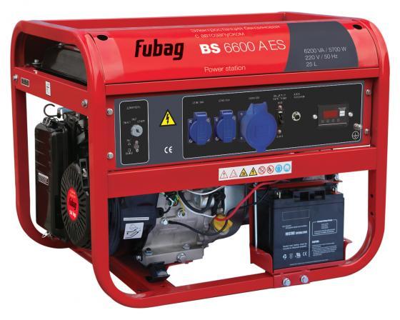 Электростанция бензиновая с электростартером и коннектором автоматики BS 6600 A ES электростанция бензиновая fubag fubag bs 2200 масло моторное минеральное для четырехтактных двигателей f