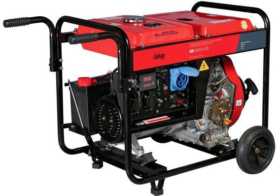 Фото - Электростанция дизельная с электростартером и коннектором автоматики DS 5500 A ES дизельный генератор fubag ds 5500 a es