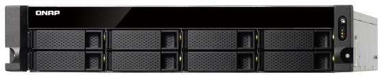 Сетевое хранилище QNAP TS-853BU-8G 8x2,5 / 3,5 рэковое сетевое хранилище rack nas qnap ts 531x 8g ts 531x 8g