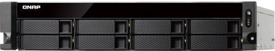 Сетевое хранилище QNAP TS-873U-RP-8G 8x2,5 / 3,5 рэковое сетевое хранилище rack nas qnap ts 531x 8g ts 531x 8g