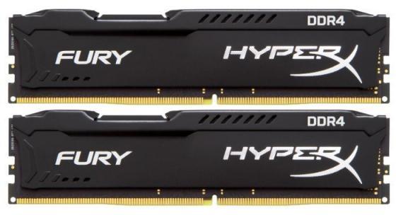 Оперативная память 16Gb (2x8Gb) PC4-23400 2933MHz DDR4 DIMM CL17 Kingston HX429C17FB2K2/16 оперативная память kingston kvr24r17s4 16