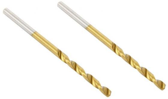 Сверло HAMMER Flex 202-103 DR MT 2,0мм*49/24мм  металл, DIN338, HSS-G, TIN, 2шт.