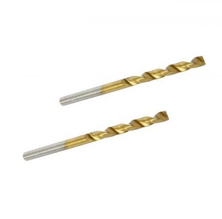 Сверло HAMMER Flex 202-105 DR MT 3,0мм*61/33мм  металл, DIN338, HSS-G, TIN, 2шт.