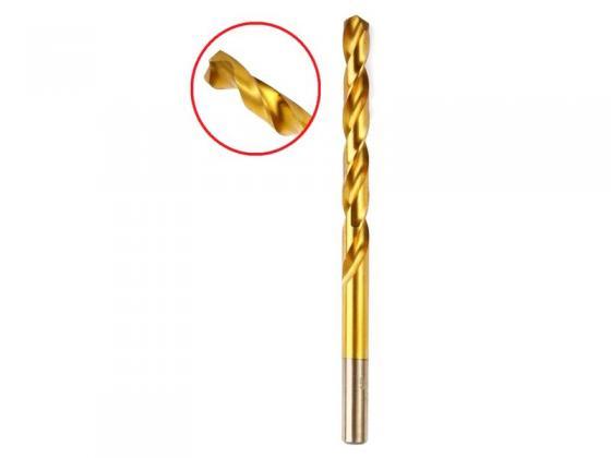 Сверло HAMMER Flex 202-122 DR MT 10,0мм*133/87мм металл, DIN338, HSS-G, TIN