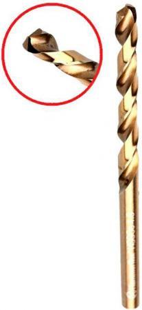 Сверло HAMMER Flex 202-510 DR CO 5,50мм*93мм кобальт M35, DIN338, HRC65-70 сверло hammer flex 202 510 dr co 5 50мм 93мм кобальт m35 din338 hrc65 70