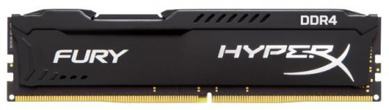Оперативная память 8Gb (1x8Gb) PC4-25600 3200MHz DDR4 DIMM CL18 Kingston HX432C18FB2/8 оперативная память 16gb 2x8gb pc4 25600 3200mhz ddr4 dimm cl18 kingston hx432c18fr2k2 16