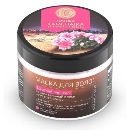 Natura Kamchatka Маска для волос царский эликсир ослепительный блеск  густота  300 мл