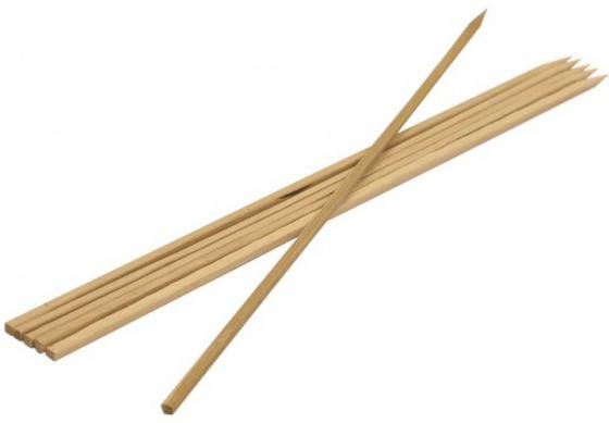 BOYSCOUT Шампуры бамбуковые 40x0,6x0,6 см квадратные 6 штук в ПВХ упаковке шампуры бамбуковые квадратные 40x0 6x0 6см boyscout 61066