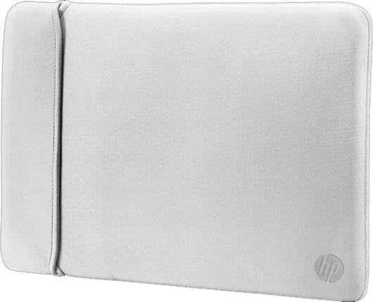 Чехол для ноутбука 14 HP 2UF61AA неопрен черный серебристый