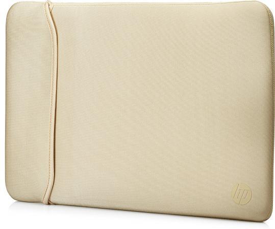 Чехол для ноутбука 15.6 HP 2UF60AA неопрен черный золотистый