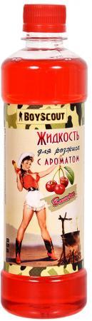 BOYSCOUT Жидкость для розжига парафиновая вишневая 0,5 л