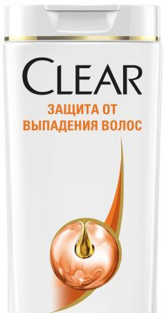 Шампунь Clear Защита от выпадения волос 200 мл 67299590 шампунь clear v a защита от выпадения волос д муж 400мл от