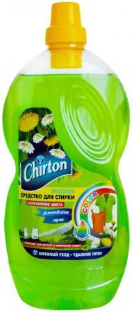 Жидкое стредство для стирки CHIRTON Альпийские луга 1шт 303595 жидкое стредство для стирки chirton 1л