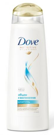 Шампунь Dove Hair Therapy: Объем и восстановление 380 мл 67267420 шампунь сухой hair therapy refresh care dove 200 мл