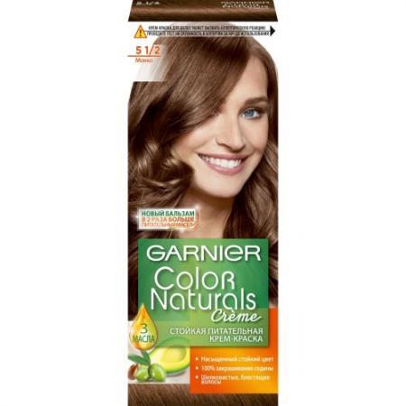 GARNIER Краска для волос Color Naturals 5 1/2 Мокко garnier краска для волос color naturals 7 капучино