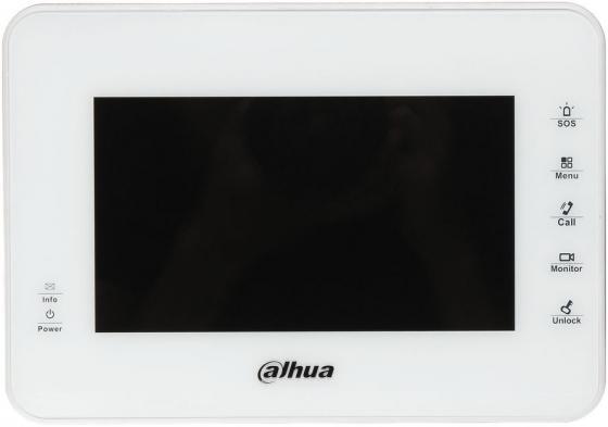 """цена на IP монитор видеодомофона Dahua DHI-VTH1560BW 7"""" 800x480 4Gb белый"""