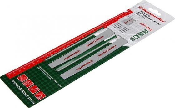 Полотно для сабельных пил Hammer Flex 225-012 S1411DF 300x19x1.25мм дер/мет/пласт (2шт) multidom штопор синий пласт мет упак