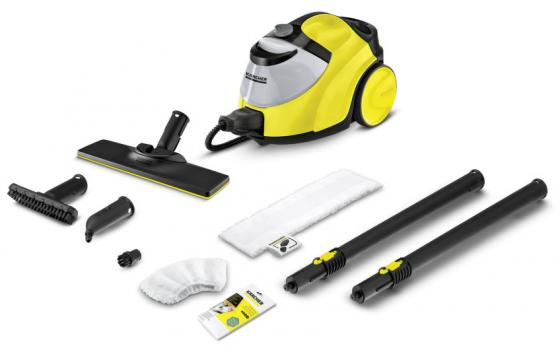 цена на Пароочиститель Karcher Karcher SC 5 EasyFix Iron Kit 2200Вт жёлтый чёрный