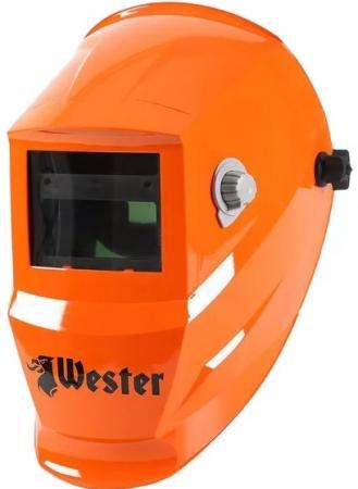 Маска сварочная WESTER WH7 990-024 Хамелеон, с регулировкой затемнения DIN 9-13 цена и фото