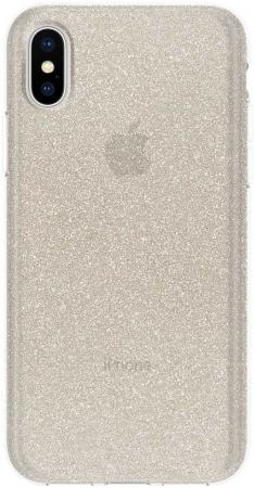 Купить Накладка Incipio Design Series Classic - Champagne Glitter для iPhone X IPH-1651-CHG