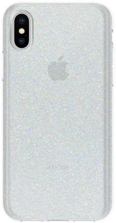Купить Накладка Incipio Design Series Classic - White Glitter для iPhone X белый IPH-1651-WTG