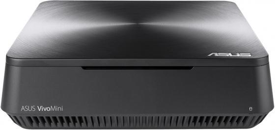 Неттоп Asus VivoMini VM65-G068Z slim i3 7100U (2.4)/4Gb/1Tb 5.4k/HDG620/Windows 10 Single Language 64/GbitEth/WiFi/BT/65W/темно-серый in stock original for asus x550ca x550cc motherboard rev2 0 i3 ddr3 integrated 100