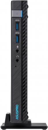 Неттоп Asus VivoPC E520-B094M slim i3 7100T (3.4)/4Gb/SSD256Gb/HDG630/noOS/GbitEth/WiFi/BT/65W/черный неттоп asus vivopc e410 b029a slim 90px0091 m01810